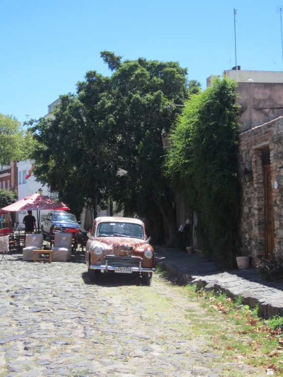 The streets of Colonia del Sacramento, the oldest town in Uruguay