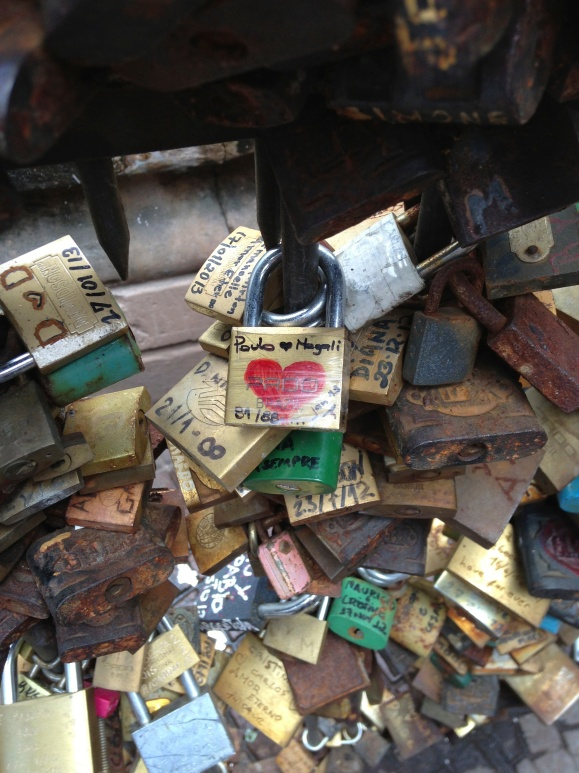 Fuente de los Candados, where lovers leave an inscribed lock