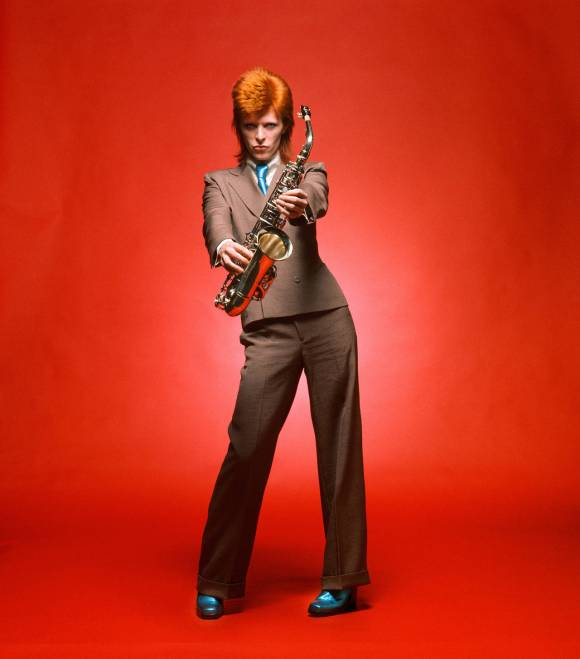[Mick Rock served as David Bowie's official photographer from 1972 to 1973]