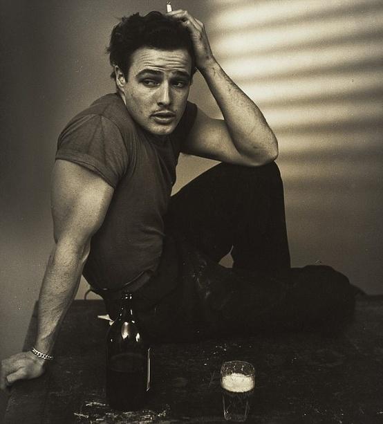 [Marlon Brando, 1948, photo by Ronny Jaques]