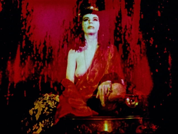 [Marjorie Cameron as The Scarlet Woman, 1954]