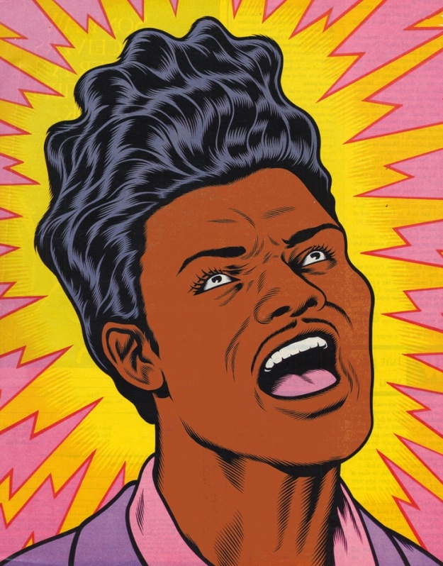 [Little Richard, by Charles Burns 1992]
