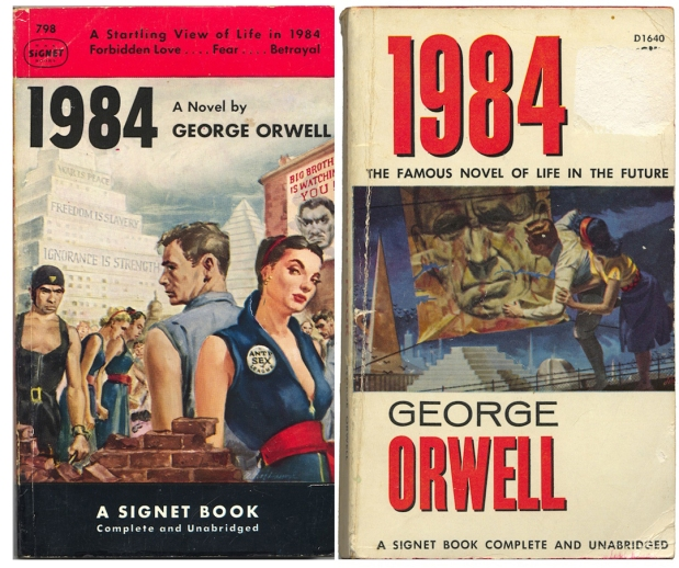 [The 1950 & 1959 edition of 1984]