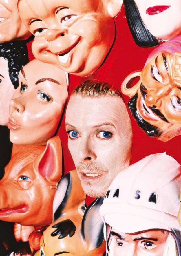 [David Bowie : Face Masks, by David LaChapelle, 1995]