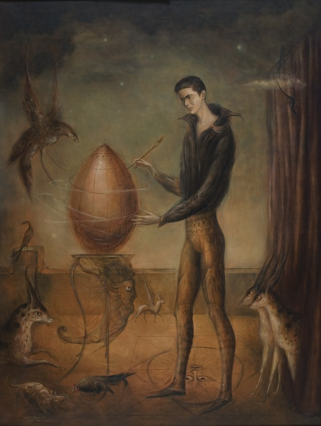 [Quería ser pájaro (I wanted to be A Bird), a 1960 work by one of that book's most interesting subjects , Leonora Carrington (6 April 1917 – 25 May 2011)]