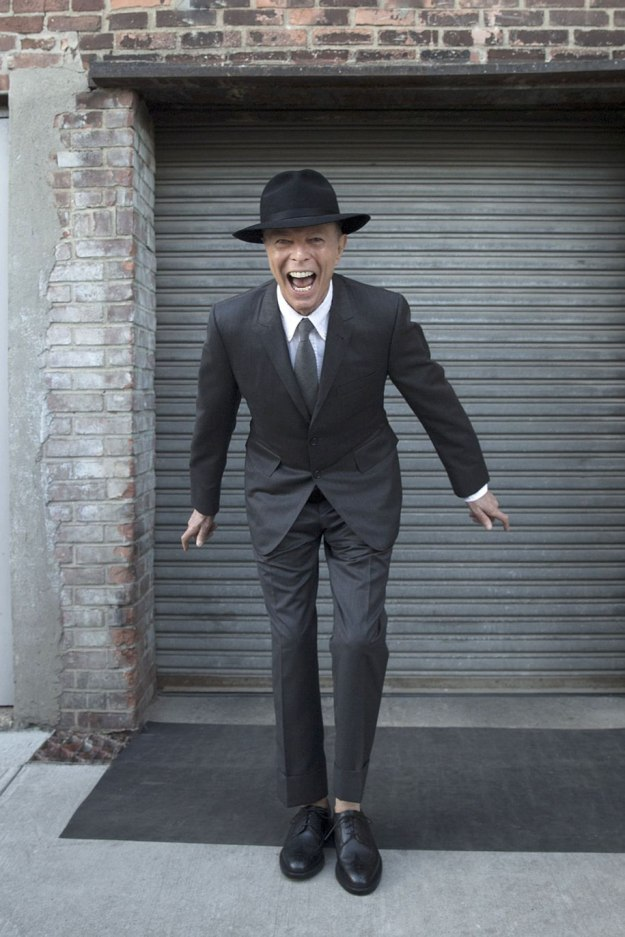 [last known photoshoot of Bowie before his sudden demise, photo by Jimmy King]