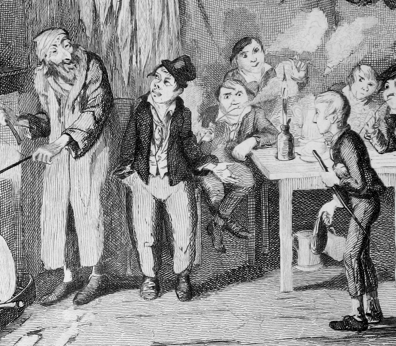 [George Cruikshank supplied all 24 illustrations for Oliver Twist originally published in monthly parts from February 1837 to April 1839.]