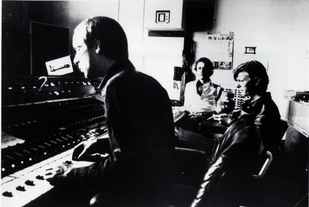 "[""Eno, Fripp and Bowie,"" Hansa Studios, ca. July 1977]"