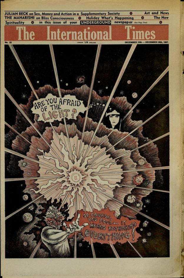 International Times Vol.1 #22 December 15 - 28 1967: 'Are you afraid of the light?'