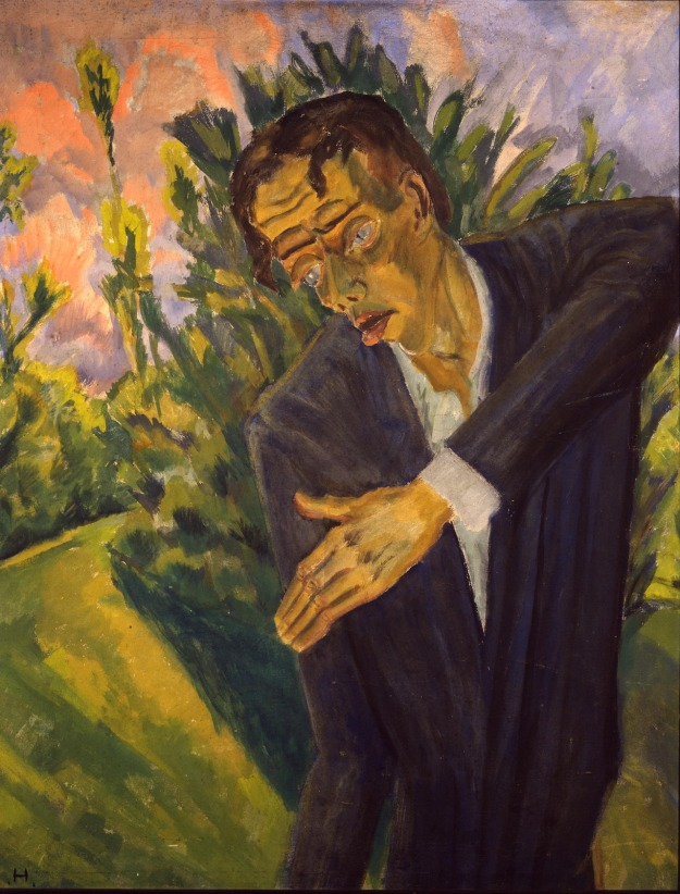 Roquairol by Erich Heckel (1917)