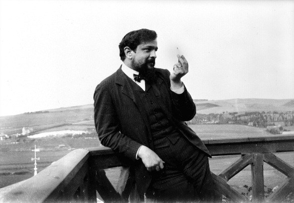 [Claude Debussy (1862-1918), photo taken in 1904.]