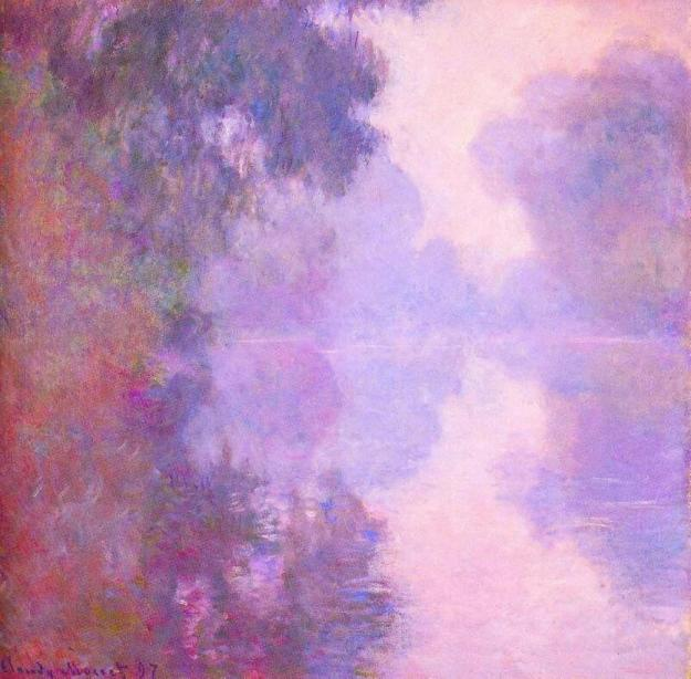 Misty Morning on the Seine [Claude Monet, 1897]