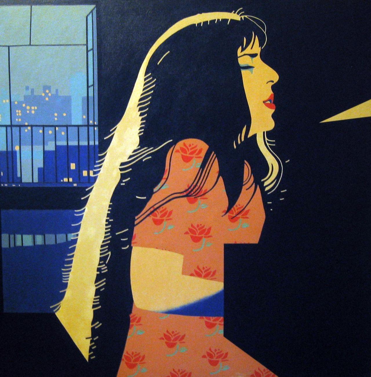 [painting by Walt Yablonsky]