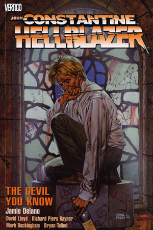John Constantine, Hellblazer, Vol. 2: The Devil You Know by Jaime Delano and David Lloyd
