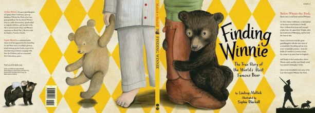 Finding Winnie: The True Story of the World's Most Famous Bear by Lindsay Mattick & Sophie Blackall