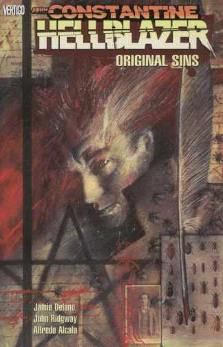 John Constantine, Hellblazer, Vol. 1: Original Sins by Jamie Delano & John Ridgway