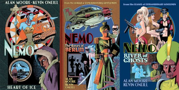 Nemo Trilogy: Heart of Ice; The Roses of Berlin; River of Ghosts by Alan Moore and Kevin O'Neill