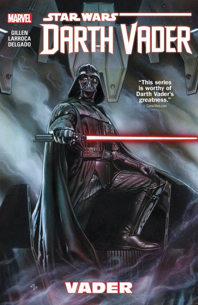 Star Wars: Darth Vader (Marvel Vol 1-4 by Kieron Gillen & Salvador Larocca