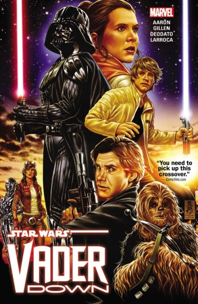 Star Wars: Vader Down (Marvel) by Jason Aaron, Kieron Gillen, Salvador Larroca, & Mike Deodato
