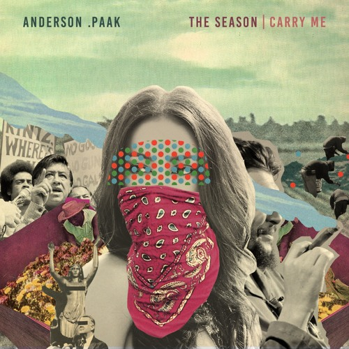 [The Season / Carry Me – Anderson .Paak, cover design by Dewey Saunders]