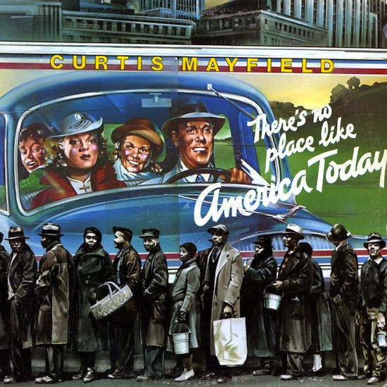 [Jesus – Curtis Mayfield (cover art recreated, in tinted form, from Margaret Bourke-White's 1937 monochrome original, 'At The Time Of The Louisville Flood', ]