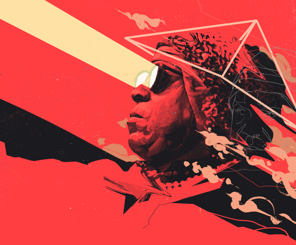 [Medicine For A Nightmare – Sun Ra (art by Oliver Barrett)]